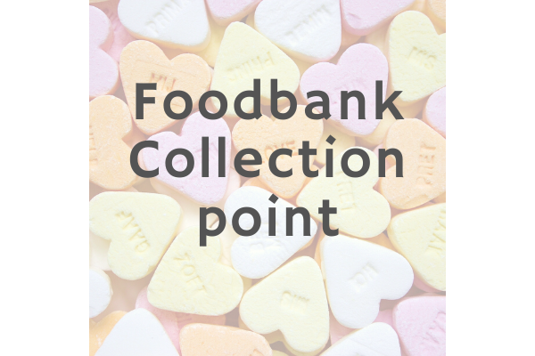 Collecting food for food banks