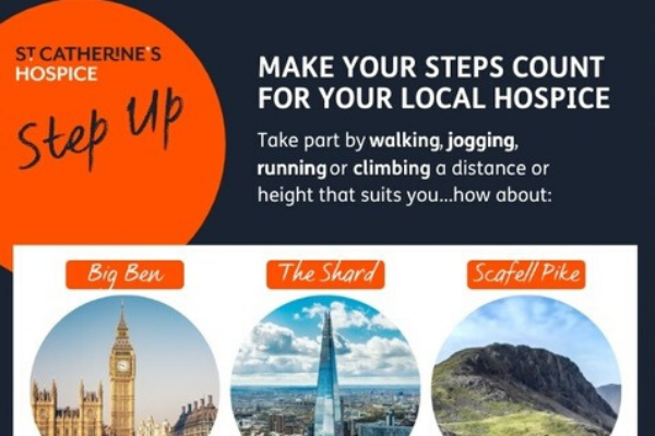 Step up for St Catherine's Hospice