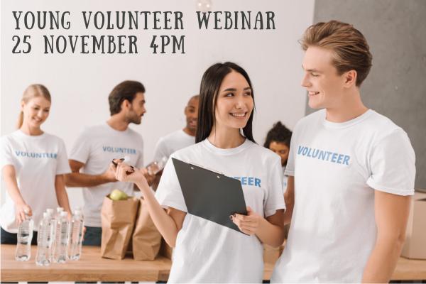 Young Volunteer Information Session – 25 Nov 2020