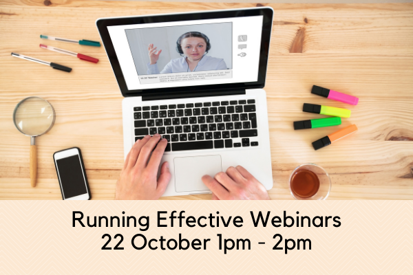 Running Effective Webinars