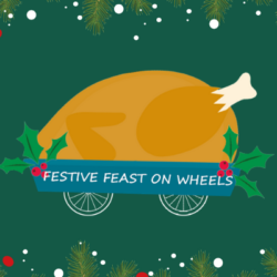 festive feast on wheels