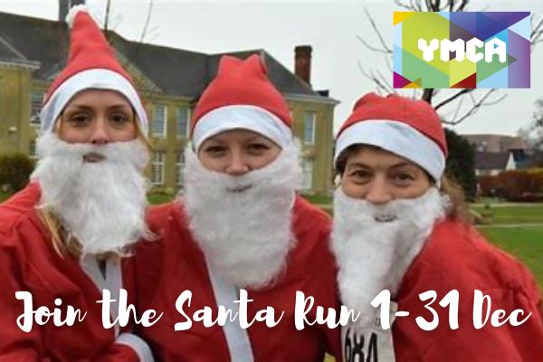 Santa Run round Reigate