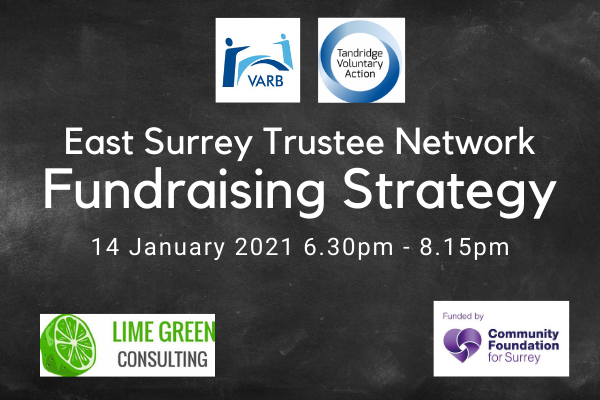 East Surrey Trustee Network – Fundraising Strategy – 14 Jan 2021