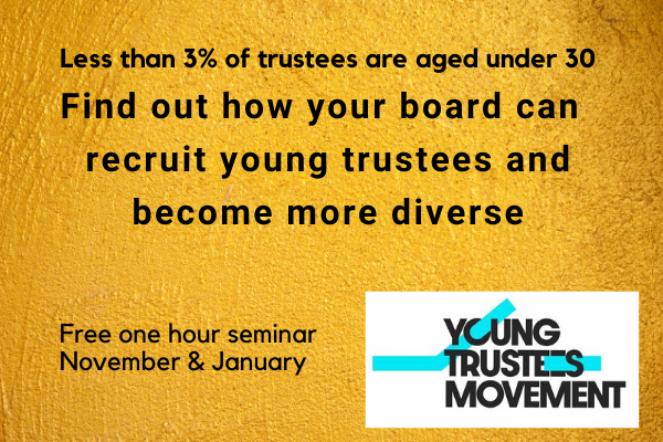 events supporting recruitment of young trustees