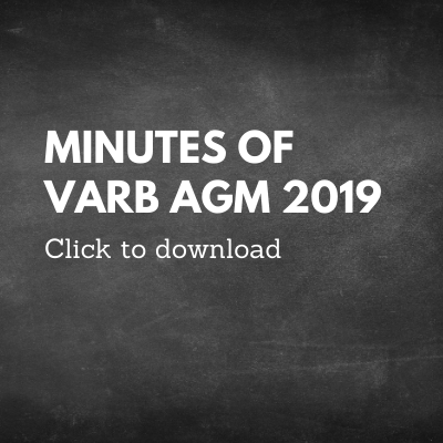 minutes of VARB AGM
