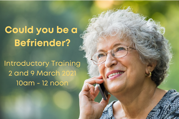 Could you be a Befriender?