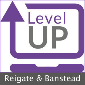 Level Up Reigate and Banstead laptop refurbishment project