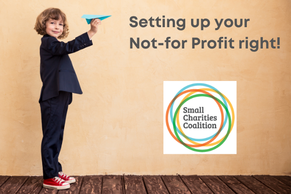Setting up your Not-for-Profit right!