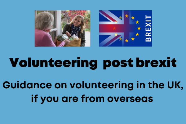 Volunteering post Brexit