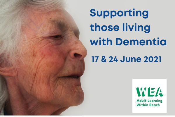 Advertising dementia training