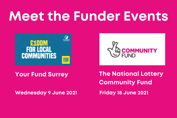 Meet the funder events: Your Fund and National Lottery