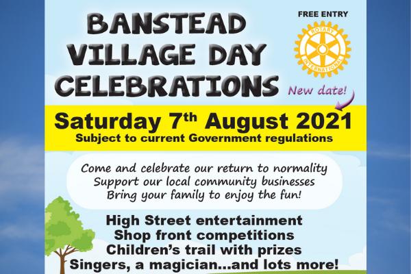 Support Banstead Village Day