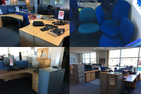Free office furniture Horley