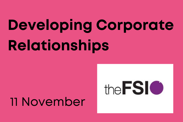 Developing Corporate Relationships