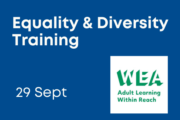 Equality and diversity training 29 September