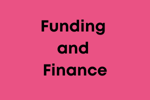 Funding and finance training