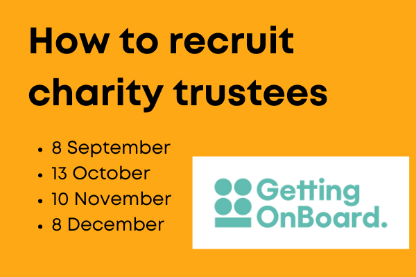 How to recruit trustees for your charity board