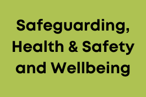 Safeguarding, health and safety training