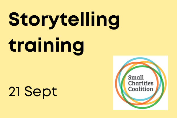 Storytelling for Small Charities