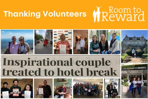 Saying Thank you to Volunteers
