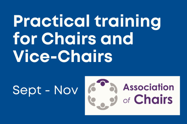 Training for Chairs and Vice-Chairs