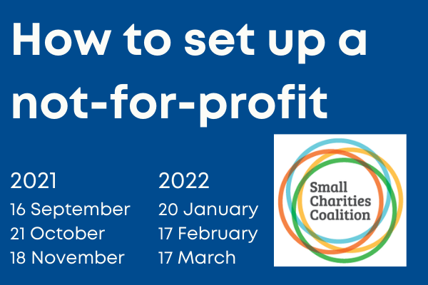 Setting up your Not-forProfit right