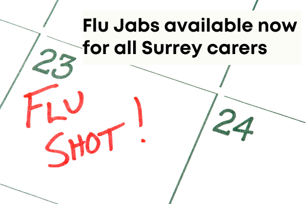 Flu jabs available now for all Surrey carers