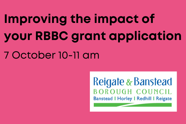 Reigate & Banstead Council – Improving the impact of your grant application