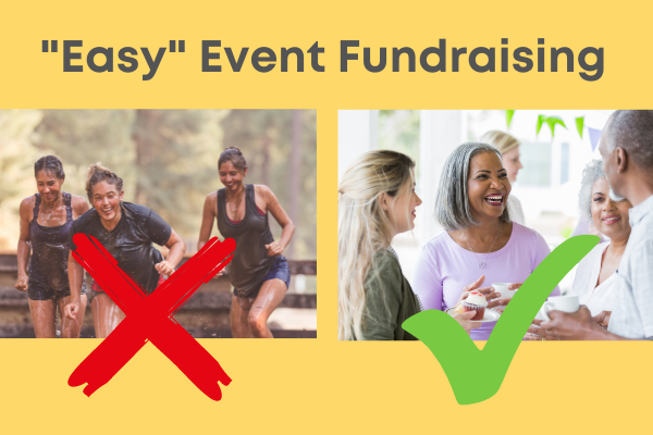 easy event fundraising