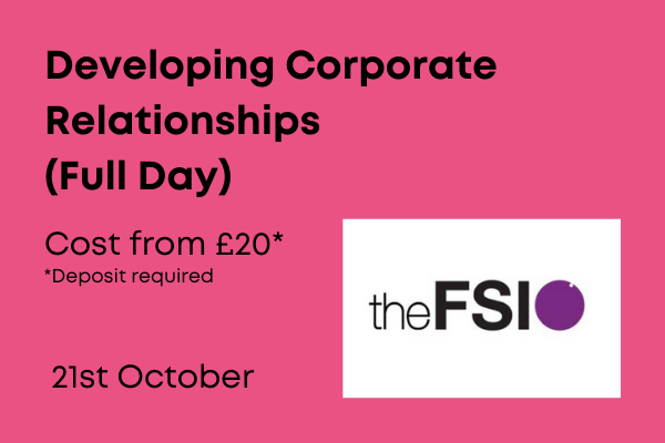 Developing Corporate Relationships, Full day training from £20