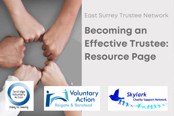 Becoming an effective trustee: resource page